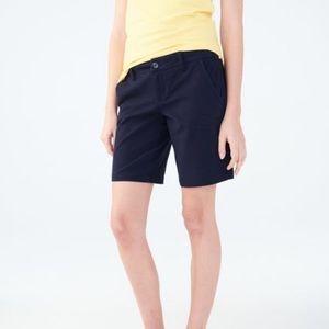 Aeropostale mid-rise stretch Bermuda shorts